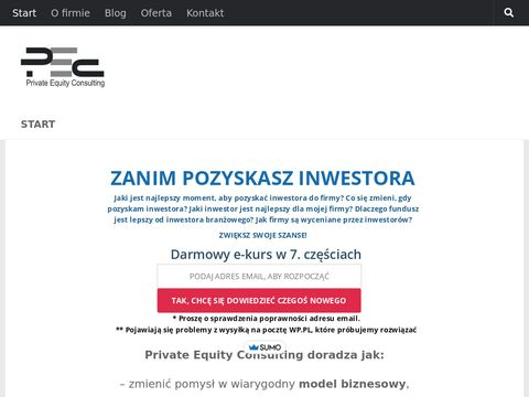 Private Equity Consulting