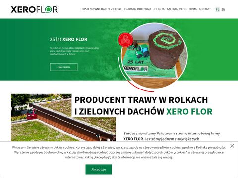 XERO FLOR producent trawy