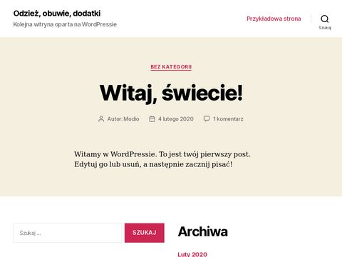 Modio.pl - internetowy outlet online