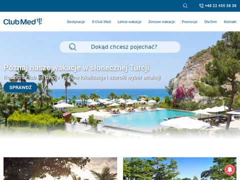 Clubmed.pl - wakacje all inclusive