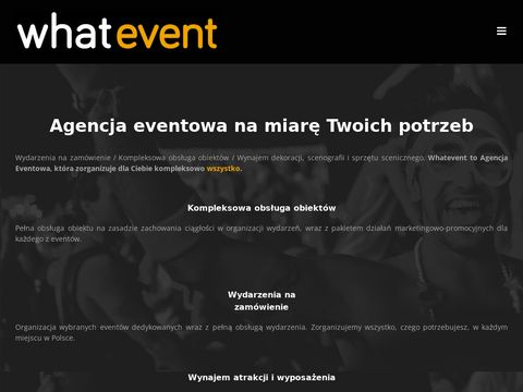 Whatevent eventy dla firm