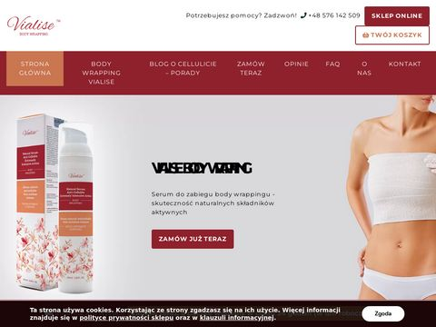 Body wrapping Vialise