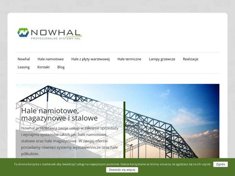 Nowhal - Producent hal stalowych