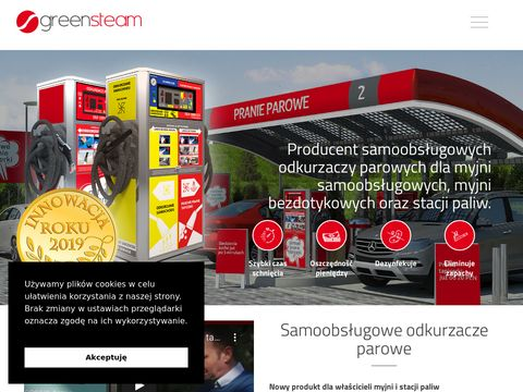 GREEN STEAM producent mobilnego